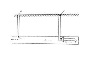 Проветривание тупиковой выработки с помощью скважин